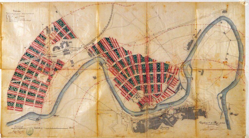 Proyectos de ensanches en el norte de Pamplona (1885-1901)
