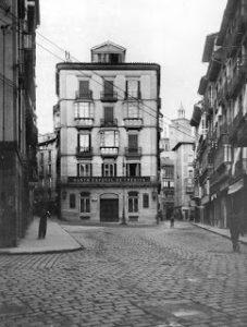 Comercios del Viejo Pamplona: la calle Mercaderes: 1908-1958