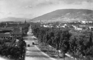 Imagenes del Ayer: Mirando hacia la Rocha desde la Muralla en la década de los 50