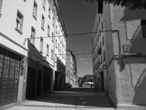 La Pamplona actual: La antigua Travesia del Ave Maria, hoy en día (2013)