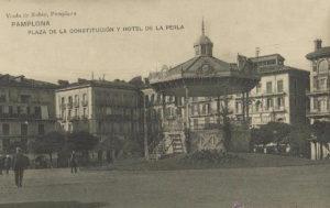 Comercios del Viejo: Pamplona: Plaza del Castillo (1908-1963)