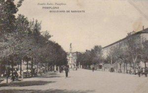 Imagenes del ayer: Paseo de Sarasate (1910-1976)