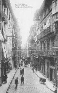 Comercios del Viejo Pamplona: La calle Zapatería (1908-1953)