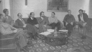 Entidades culturales del Viejo Pamplona: Orígenes del actual Ateneo Navarro (1985-1990)