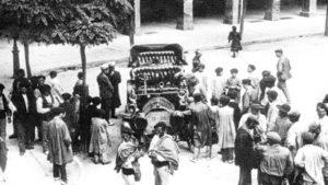 Los primeros automóviles en el Viejo Pamplona (1921-1922)
