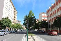 La Pamplona actual: Paseo de los Enamorados y la calle del Vergel (2015)