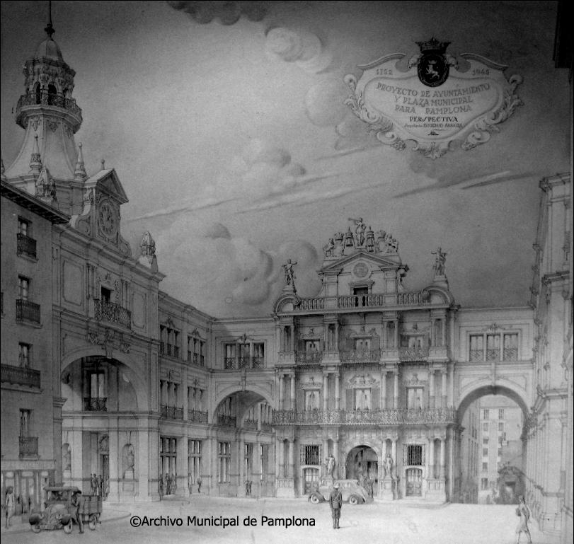 De como pudo cambiar la apariencia de la plaza consistorial a mediados del S. XX