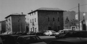 Derribos en la avenida Marcelo Celayeta en el año 1996