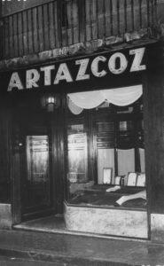 """""""Comercios del Casco Antiguo, comercios que dejan huella"""": Artazcoz"""