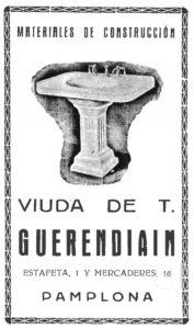 Comercios del Viejo Pamplona: La calle Estafeta (1905-1965). Primera Parte.