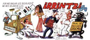 Crónica gráfica del Viejo Pamplona a través de las pancartas de las peñas (1970-1978)