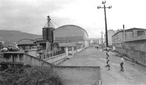 La calle Nazario Carriquiri en el año 1984