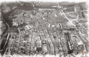 Imagenes del ayer.  Pamplona a vista de pájaro  (1924)